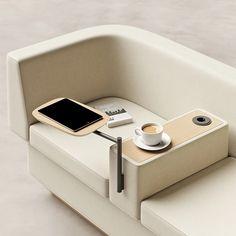 Office Sofa, Office Seating, Closet Office, Milan Furniture, Sofa Furniture, Sofa Chair, Industrial Design Furniture, Furniture Design, Modern Sofa Designs