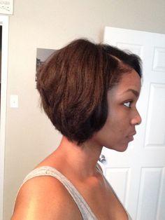 awesome Bob haircut, African American, Bob hairstyle, Short Bob...