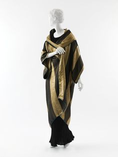 Paul Poiret Evening Dress | evening coat 1913 silk evening coat available on etsy paul poiret ...