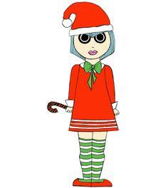 Christmas girl  @bydialuga