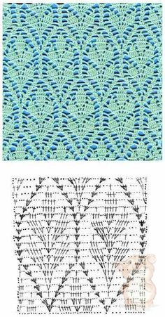 Watch This Video Beauteous Finished Make Crochet Look Like Knitting (the Waistcoat Stitch) Ideas. Amazing Make Crochet Look Like Knitting (the Waistcoat Stitch) Ideas. Crochet Stitches Chart, Stitch Crochet, Crochet Motifs, Crochet Diagram, Filet Crochet, Crochet Fabric, Lace Fabric, Lace Knitting, Knitting Patterns
