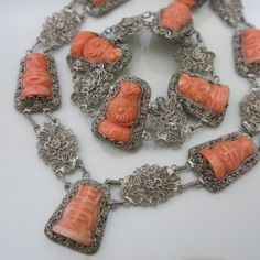 Image result for carved coral phoenix