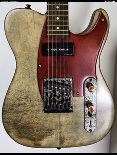 Custom Electric Guitars, Custom Guitars, Music Instruments, Projects, Guitar, Musical Instruments
