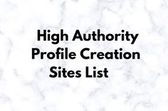 Top 40 High Authority Profile Creation Sites List   Blog Junta Best Profile, Blog Websites, Seo Specialist, On Page Seo, Top 40, Website Link, Business Names, Search Engine Optimization, Author
