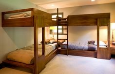 Bunk beds.. The castles in the kingdoms of childhoods.