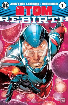Ryan Choi has your typical college experience: Crazy schedule. New roommate. Oh, and also his professor is a super hero in JLA: THE ATOM #DCREBIRTH #1!
