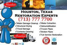 24x7 Water damage restoration services - Houston, TX