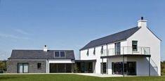 Paul McAlister Architects - The Barn Studio, Portadown, Northern Ireland… House Designs Ireland, Cool House Designs, Modern Farmhouse Exterior, Farmhouse Renovation, Farmhouse Plans, Rural House, Exterior House Colors, Exterior Homes, Exterior Design