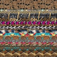 The London Calling Scarf Aspen Scarf Lexicon of Style by Alexandra Dieck shop on alexandradieck.com/shop