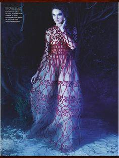 Natalia Vodianova: La Couture Enchantée - Numéro by Karl Lagerfeld, March 2013