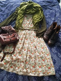 Mode Outfits, Fashion Outfits, Womens Fashion, Mode Vintage, Modest Fashion, Aesthetic Clothes, Pretty Dresses, What To Wear, Vintage Fashion