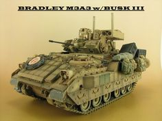 BRADLEY M3A3 1/35 MENG SS-006 Bradley Fighting Vehicle, Armored Fighting Vehicle, Bradley Ifv, Army Usa, Wood Toys Plans, Armored Vehicles, World War Two, Legos, Scale Models