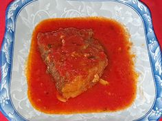 Lulu - Povesti din Bucatarie: Peste in sos de rosii