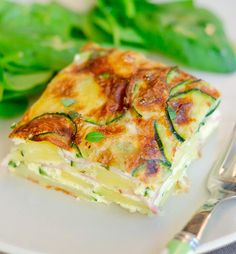 frittata with zucchini and goat cheese recipe....ew the goat cheese is out but the rest sounds soooo good.  Sub jack or maybe havarti.