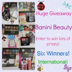 Awsome giveaway here:http://www.baninibeauty.com/3953/belated-blog-birthday-giveaway-6-winners-this-time-_/