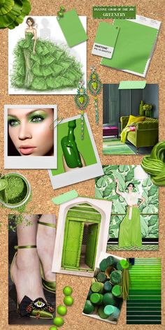 GREENERY  //  Pantone's Color of the Year 2017