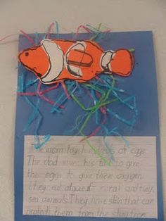 How adorable is this fish writing activity?