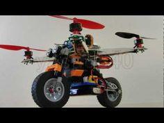 LEGO Bike & KK2.0 LCD Board Gyro PI gain adjustment Vol.31