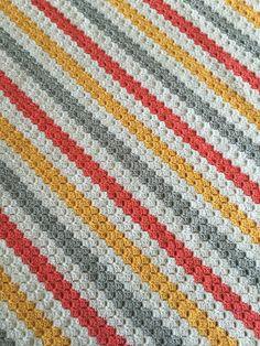 Corner To Corner C2C Corner Start Afghan By Lauri Bolland - Free Crochet Pattern - (ravelry)