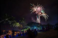 Enquanto alguns acordam, quem escolheu passar o Ano Novo no Hawaii começa a apreciar o show pirotécnico apenas agora, a região é o último lugar habitado do planeta a celebrar a virada. Boa Festas e Feliz 2016!