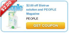 $2.00+off+Biotrue+solution+and+PEOPLE+Magazine
