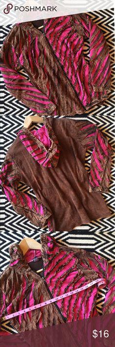 KPC pink and brown hoodie, sweatshirt Great condition. KPC pink and brown hoodie, sweatshirt. Size M. 100% cotton. Measurements pictured. KPC Tops Sweatshirts & Hoodies