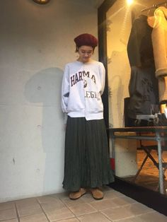 【原宿women's:kurihara】 USEDリメイクを使用したコーディネート