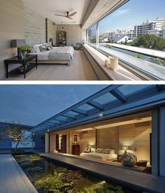 A Home That Maintains Visual Connections To Its Surrounding Environment