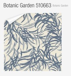 Botanic Garden Wallpaper. Helene Blache for Flugger Farver