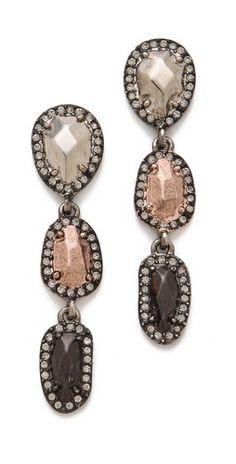 House of Harlow 1960 Rif Pebble Drop Earrings
