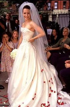 One of Charlotte's Wedding Dresses from Sex and the City