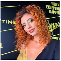 Hairstyles for Thick Curly Hair #coloredhairs