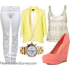 Pastels..., created by adoremycurves on Polyvore