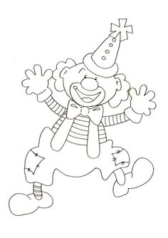 J'ai un gros nez rouge - Kurzhaarfrisuren Feines Haar Colouring Pages, Coloring Sheets, Adult Coloring, Coloring Books, Carnival Theme Crafts, Circus Theme, Theme Carnaval, Clown Crafts, Clown Party