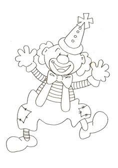J'ai un gros nez rouge - Kurzhaarfrisuren Feines Haar Colouring Pages, Coloring Sheets, Adult Coloring, Circus Clown, Circus Theme, Theme Carnaval, Clown Party, Create Invitations, Clowns