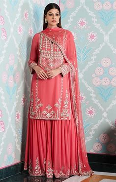 Buy beautiful Designer fully custom made bridal lehenga choli and party wear lehenga choli on Beautiful Latest Designs available in all comfortable price range.Buy Designer Collection Online : Call/ WhatsApp us on : Designer Bridal Lehenga, Bridal Lehenga Choli, Designer Anarkali, Sharara Designs, Indian Wedding Outfits, Indian Outfits, Indian Clothes, Indian Attire, Indian Ethnic Wear