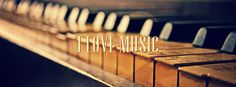 piano photography | love music – Facebook cover