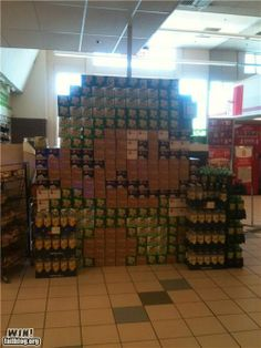 WIN! - soda display - Funny WIN Photos and Videos - epic win photos - Cheezburger
