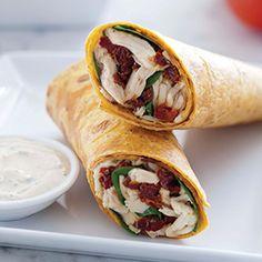 Banishing Boring Sandwiches: Italian Wraps