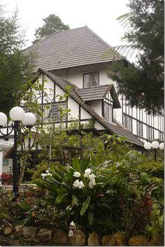 Ye Olde Smokehouse Inn, Cameron Highlands, Malaysia.