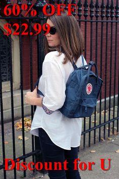 Fjallraven Kanken Backpack fuoura Kids Class, Padded Jacket, High Collar, Kanken Backpack, Hair Beauty, Backpacks, Bedroom, Best Deals, My Style