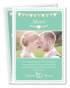 carte de remerciement mariage maris hipster prv 129 - Remerciement Mariage Personne Absente