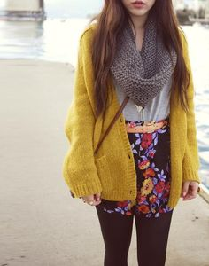 Brights and Prints for Fall!