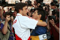Enzo y Diego Football Icon, Best Football Players, Good Soccer Players, World Football, Sport Football, Nfl, Retro Pictures, Vintage Football, Best Player