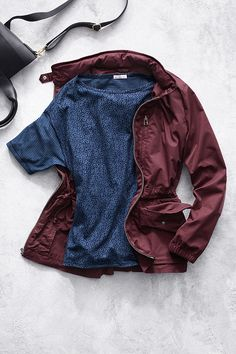 Prep for rainy spring weather with our utility hooded jacket. Shop all new spring outerwear styles from Gap.