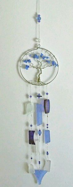 Wire Wrapped And Beaded Wind Chime