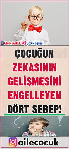 Çocuğun zekasının gelişmesini engelleyen 4 sebep! - Dr. Yaşar Kuru Parenting, Baseball Cards, Education, Children, Sports, Life, Kids, Hs Sports, Sport