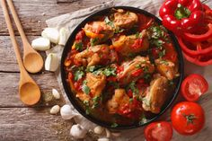 Fricase de Pollo / Fricassee Chicken - Cuban Recipes - Caribbean Recipes - My WordPress Website Greek Style Chicken, Greek Chicken Recipes, Greek Recipes, Poulet Curry Coco, Turkey Stew, Chicken Fricassee, Greek Olives, Greek Dishes, Vegetable Stew