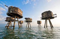 Seefestung aus dem Zweiten Weltkrieg