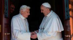 Papa Francisco visita a Benedicto XVI antes de sus viajes internacionales
